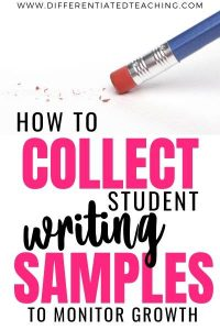 Collecting Writing Samples