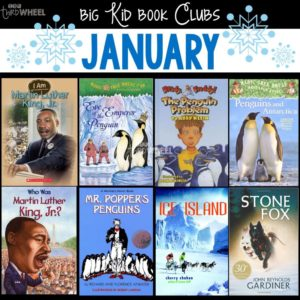 Monthly book clubs are a great way to get kids reading regularly and frequently switching the content. But, it seems like every season, holiday, and month just has TOO MANY book choices! That's what I'm now sharing my top picks for big kids book club every month! Check out the January book club picks in this post.