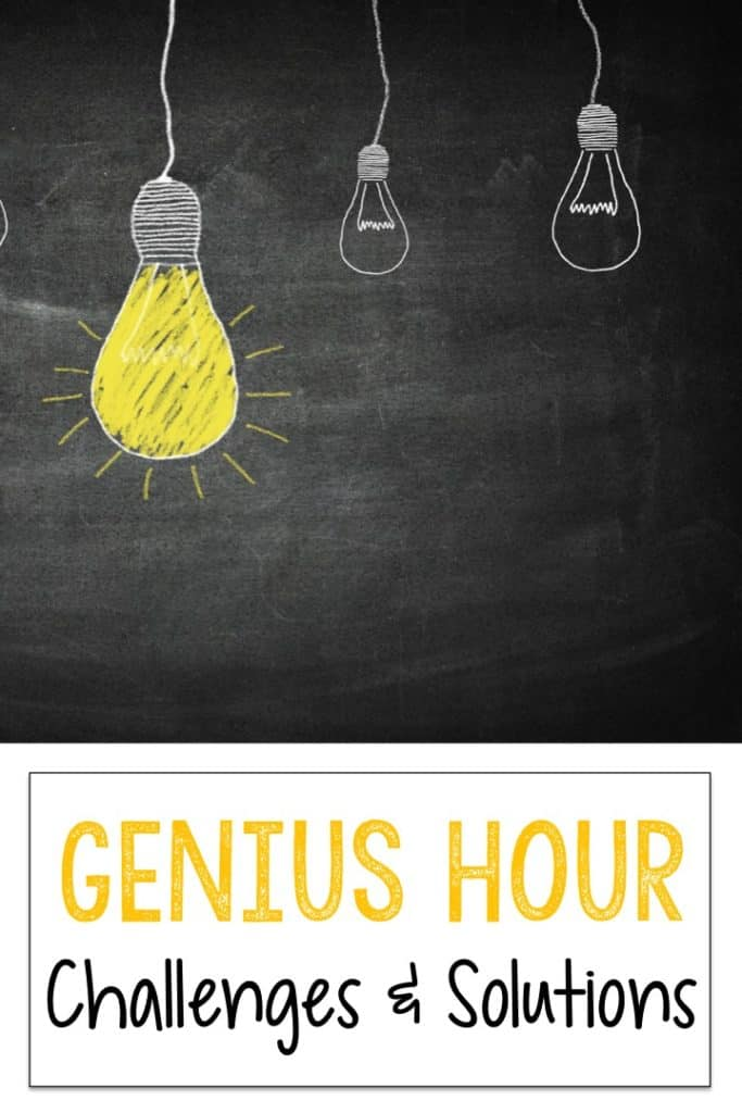 How to get started with Genius Hour in the elementary classroom