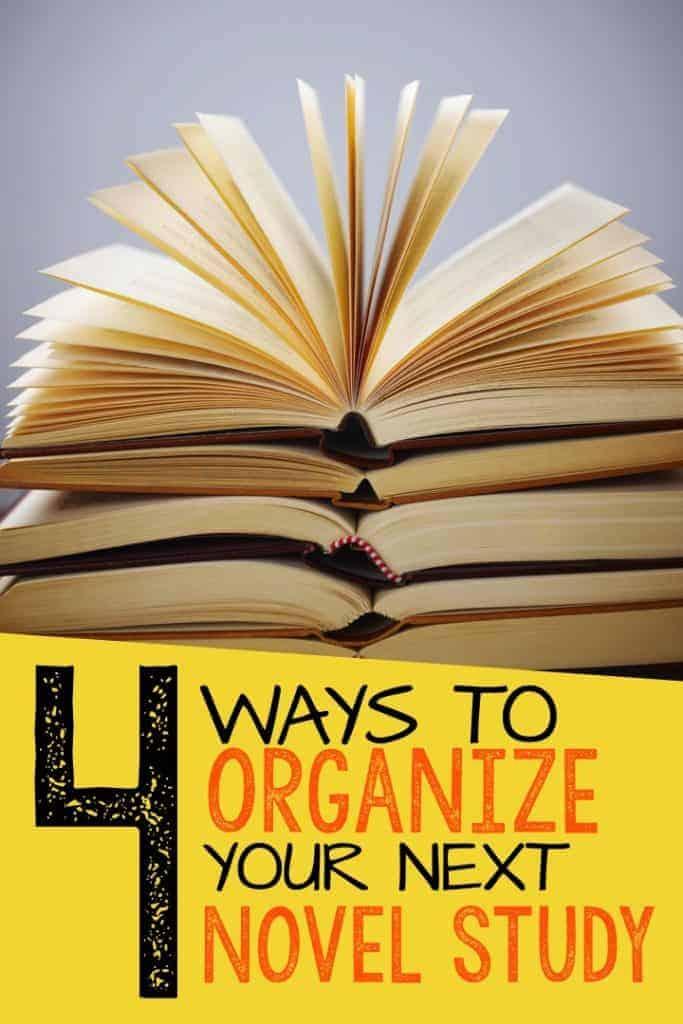 novel study organization - The Third Wheel