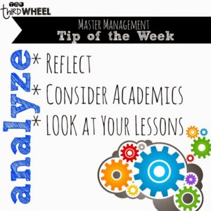 This seventh installment of my Master Classroom Management Challenge encourages you to pause and analyze the behaviors you're seeing. I want you to dig deep and try to connect the dots on what's going on that might be causing those behaviors to surface. I share three tips on how to do this in this post.