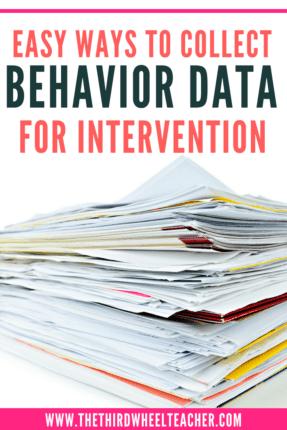simple ways to track behavior data