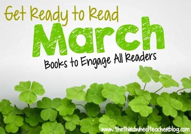 Fight the urge to pull out leveled reading passages as state standardized testing draws near and instead, check out this list of my March picks for big kids' book clubs! Your students will enjoy these themed books that will help them still practice important comprehension skills and have fun while reading.