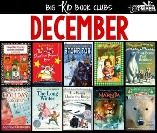 This list of novel studies for the month of December will help you provide your students with book club options that will engage them, help them explore important reading comprehension skills, and make the last weeks before winter break more bearable. Check out the full list inside this post!