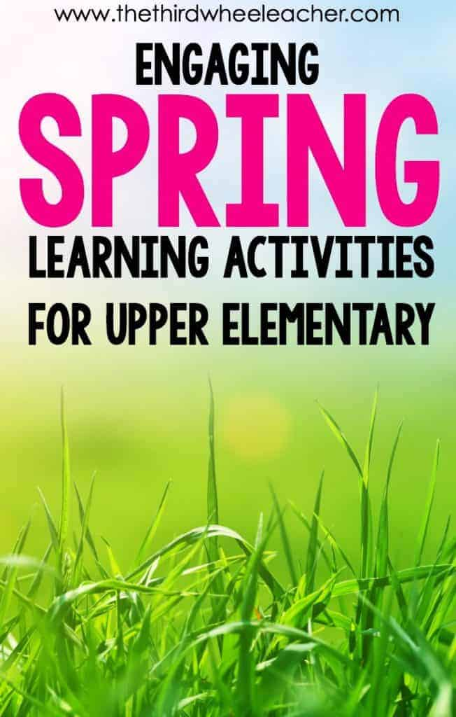 Spring Learning Activities
