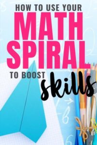math spiral review skills
