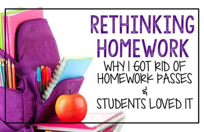 Why you should rethink homework passes and what you should consider trying instead