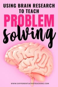 the brain and problem solving