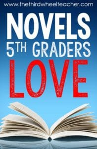 Best Novels for 5th Graders
