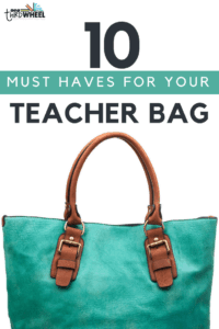 teacher bag essentials