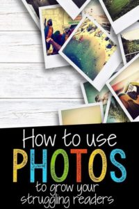 Using Photos to teach comprehension skills to reluctant readers