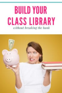 Find out how to build your classroom library without spending a ton of money. I've shared 10 inexpensive ways to get books for your class.