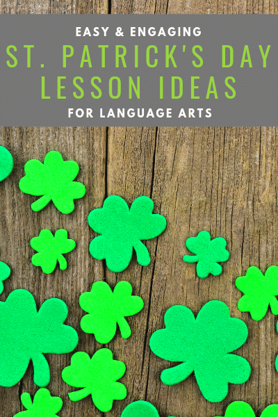 Easy and engaging Language Arts Activities to Teach about St. Patrick's Day