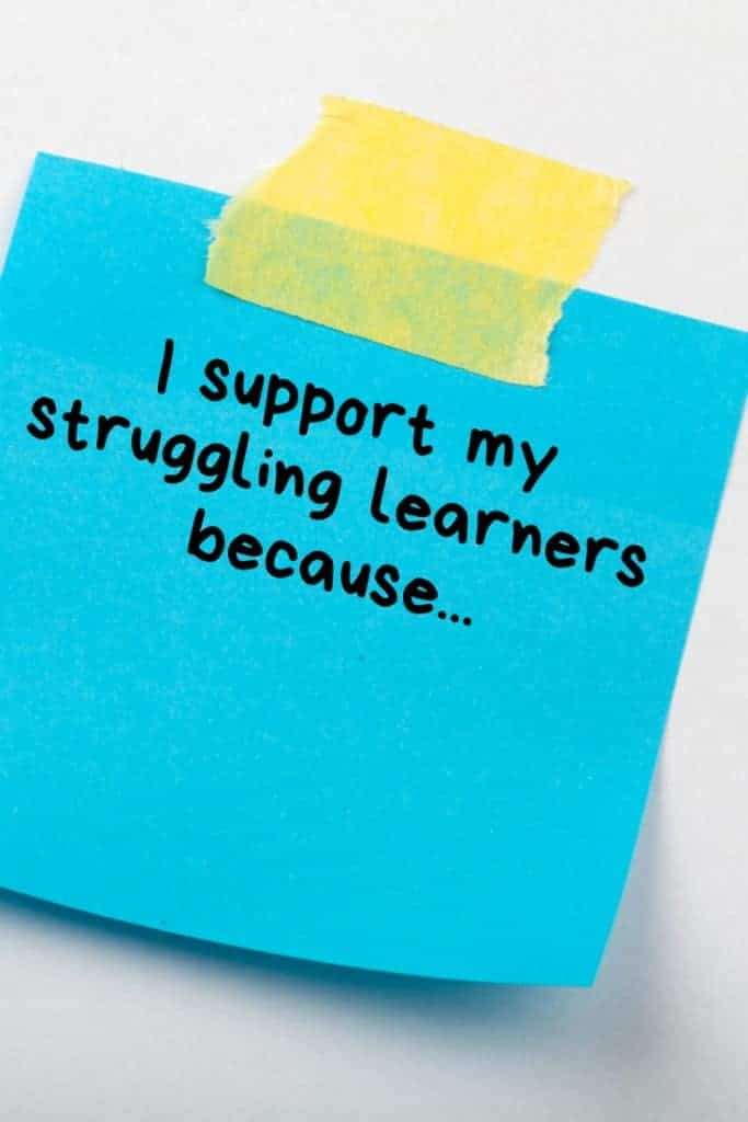 How to avoid burn out when you're working with struggling learners