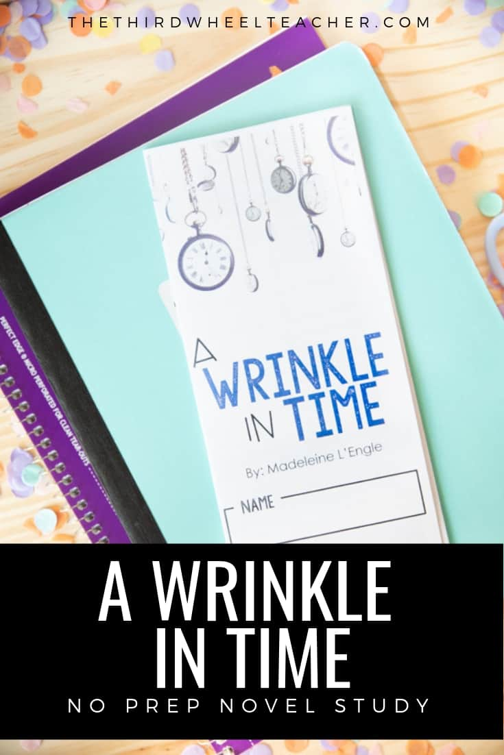 Novel Study - A WRINKLE IN TIME