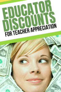 Deals for Teacher Appreciation Week