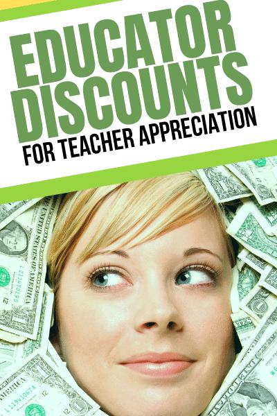 Deals for Teacher Appreciation Week