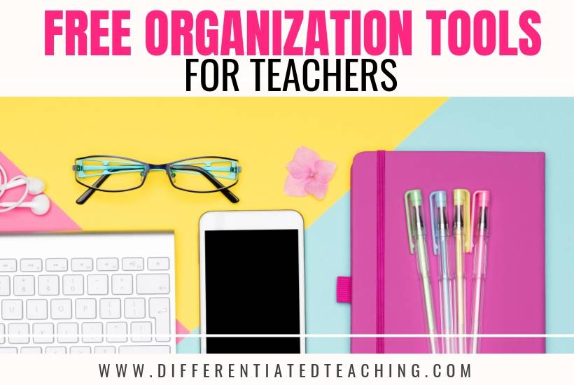 Free Organization Tools for Teachers - free printables to keep you organized this school year.