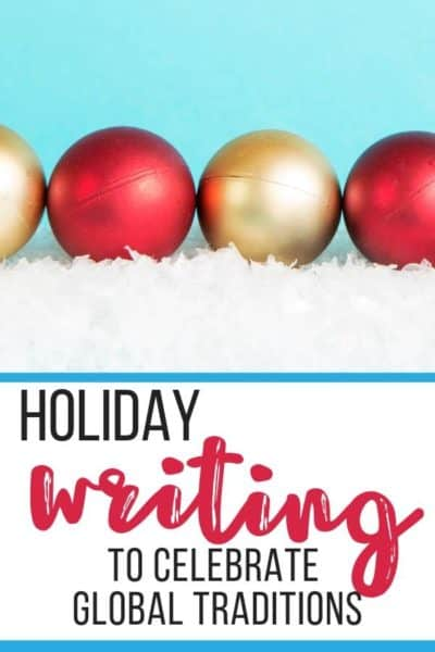 holiday writing activities to integrate social studies