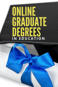 Online graduate degrees in education for teachers