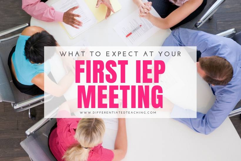 What to Expect at your first IEP Meeting