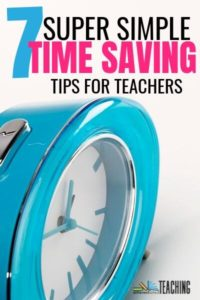 Time Saving Tips for Teachers