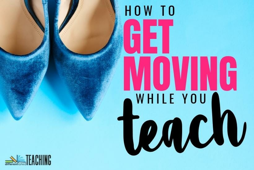 how to get walking more often as you teach