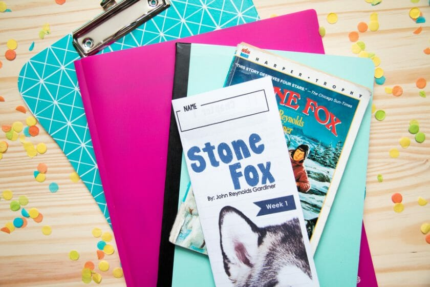 Stone Fox Novel study for the classic book by John Reynolds Gardiner - Differentiated Teaching