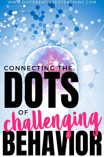 Finding Antecedents to connect the dot on challenging behavior