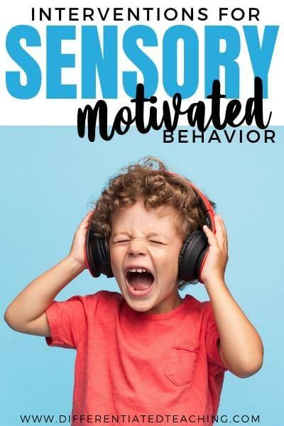 interventions for sensory behaviors