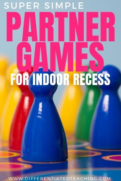 partner games for indoor recess