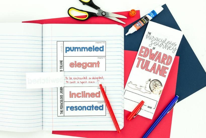 The Miraculous Journey of Edward Tulane Chapter Vocabulary