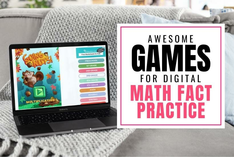 Awesome Math Fact Games