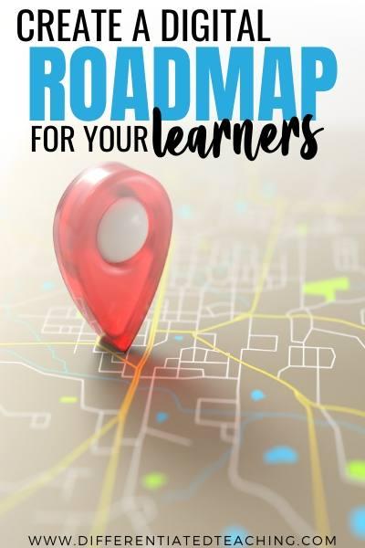 Create a digital roadmap for learners
