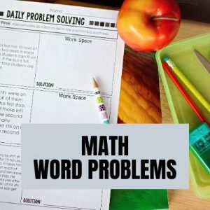 Free Math Word Problems for Grades 2-6