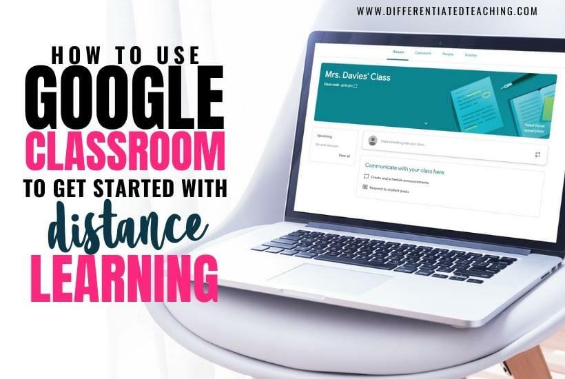 How to set up Google Classroom