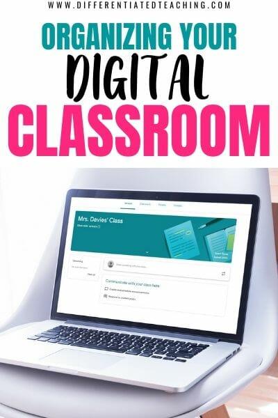 Organizing your digital classroom