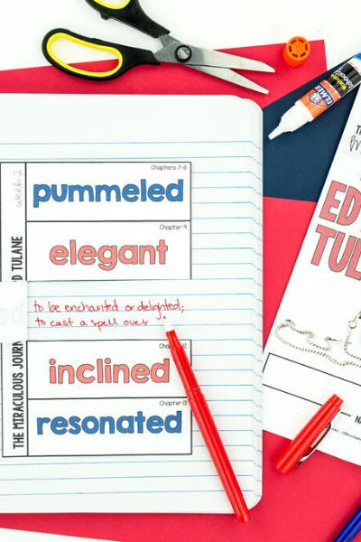 Edward Tulane Chapter Vocabulary