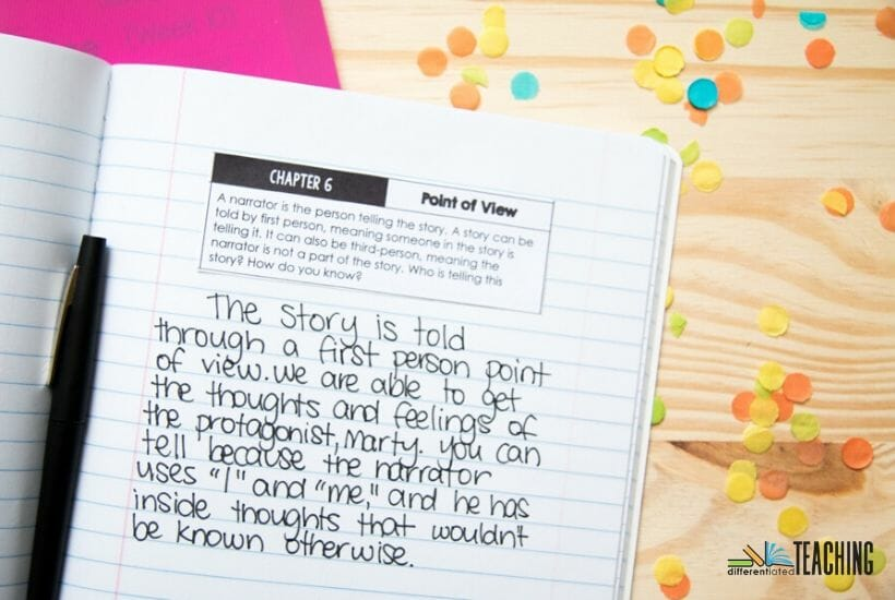 Shiloh Comprehension JOurnal Prompts