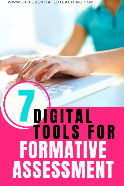 Digital Formative Assessment Tools for Online Learning