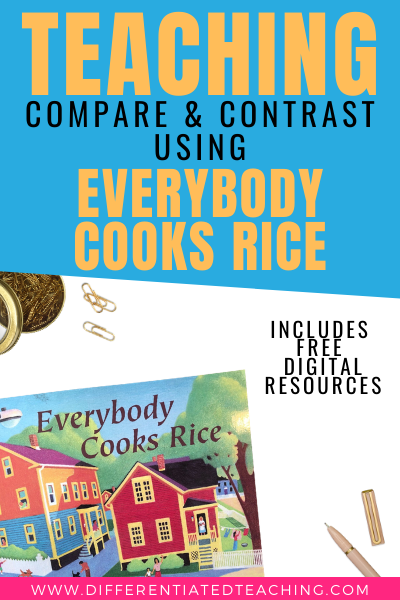 Compare and Contrast with Everybody Cooks Rice