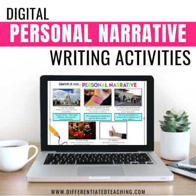 Digital Personal Narrative Writing Activities