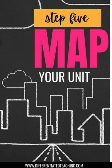 MAPPING YOUR NOVEL UNIT