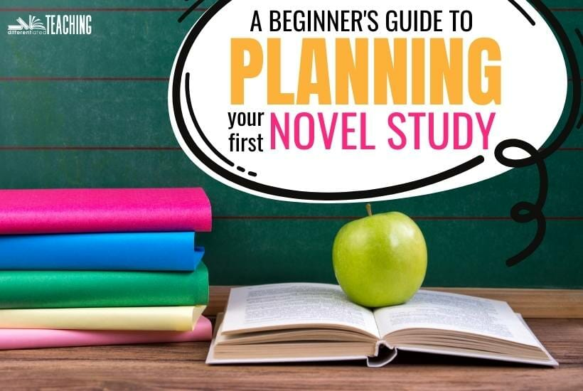 Beginners guide to novel study planning with chapter books