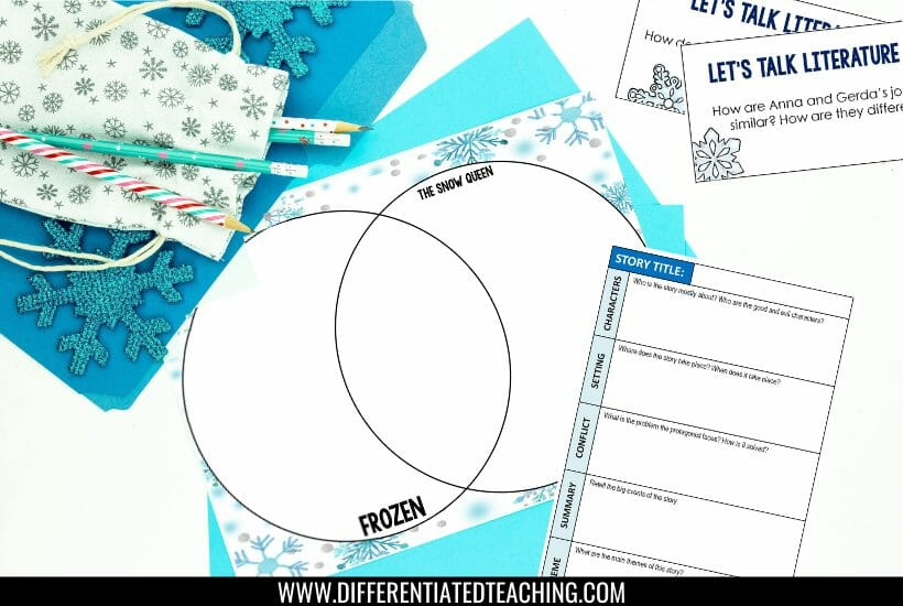 free graphic organizers for fairy tale analysis