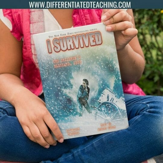 I Survived the Children's Blizzard - Winter Novels Differentiated Teaching