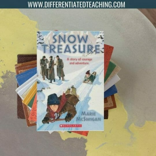 Snow Treasure - Winter Novels Differentiated Teaching