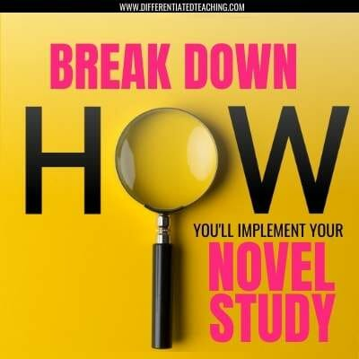 HOW TO IMPLEMENT YOUR NOVEL STUDY
