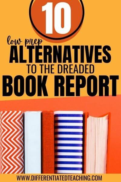 book report alternatives