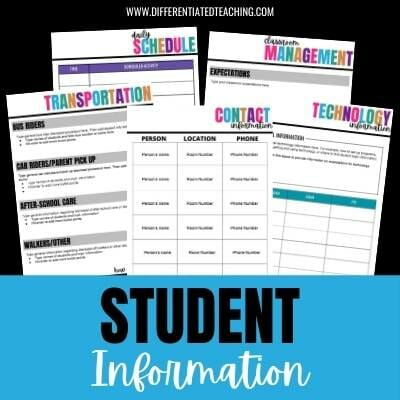 Free substitute binder forms